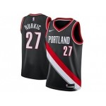 Nike Blazers #27 Jusuf Nurkic Black NBA Swingman Icon Edition Jersey