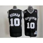 NBA San Antonio Spurs Throwback Dennis Rodman #10 black jersey