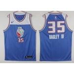 Kings #35 Marvin Bagley III Blue Nike Swingman Jersey