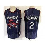 NBA Toronto Raptors #2 Kawhi Leonard Purple NBA Jerseys