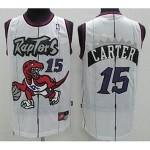 NBA Toronto Raptors Vince Carter #15 white jersey