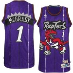 NBA Toronto Raptors Tracy Mcgrady #1 Purple jersey