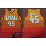 Jazz #45 Donovan Mitchell Multi-Color City Edition Nike Swingman Jersey