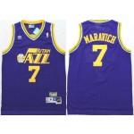 NBA Jerseys Utah Jazz maravich #7 purple Jersey