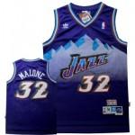 NBA snow mountain version Jerseys Utah Jazz malone #32 purple Jersey