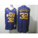 NBA Throwback Jerseys Utah Jazz malone #32 purple Jersey