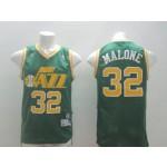 NBA Utah Jazz Malone #32 Green