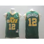 NBA Utah Jazz Stockton #12 Green