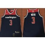 NBA Jerseys Washington Wizards beal #3 Blue City Jerseys