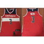 NBA Jerseys Washington Wizards beal #3 Red City Jerseys