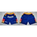 Nuggets Blue Just Don Mesh Shorts