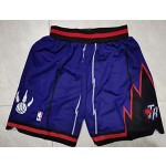 Raptors Purple Nike Mesh Shorts