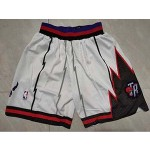 Raptors White Nike Mesh Shorts
