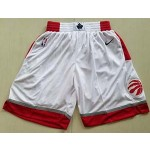 Men's Toronto Raptors Nike White Association Edition Swingman Performance Shorts