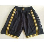 Men's Los Angeles Lakers Nike Black City Edition Swingman Performance Shorts