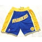Warriors Royal Hardwood Classics Shorts