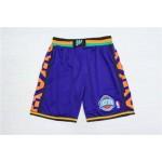 1995 All-Star Purple Hardwood Classics Shorts