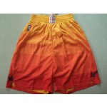 Jazz Orange Nike Swingman Shorts