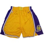 Lakers Yellow Nike NBA Shorts