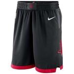 Men's Houston Rockets Nike Black Statement Swingman Performance Basketball Shorts