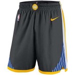 Men's Golden State Warriors Nike Gray Statement Swingman Basketball Shorts