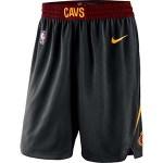 Nike Men's Cleveland Cavaliers Black Shorts