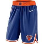 Men's New York Knicks Nike Blue Icon Swingman Basketball Shorts