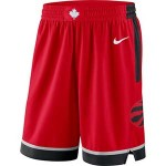 Men's Toronto Raptors Nike Red Icon Swingman Basketball Shorts