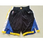 Warriors Black Nike Basketball Shorts