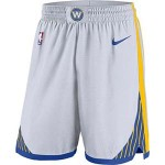Men's Golden State Warriors Nike White Association Swingman Performance Shorts