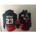 NBA Chicago Bulls MICHAEL JORDAN #23 black new sweats