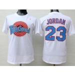 Tune Squad #23 Michael Jordan White Men's T-Shirt