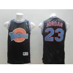 Michael Jordan #23 black Tune Squad Jersey