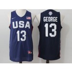 NBA George #13 Blue The American dream jersey
