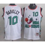 NBA ALL STARS 1996 Barkley #10 White Jersey