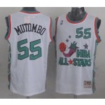NBA ALL STARS 1996 Mutombo #55 White Jersey