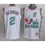 NBA ALL STARS 1996 Richmond #2 White Jersey