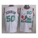 NBA ALL STARS 1996 Robinson #50 White Jersey