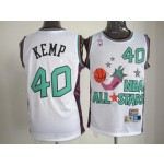 All Star Game 1995 Shawn Kemp #40 white