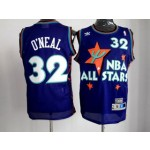 All Star Game 1995 S.O'Neal #32 Purple