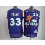All Star Game 1995 Patrick Ewing #33 Purple
