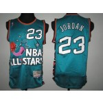 All Star Game 1995 Michael Jordan #23 green