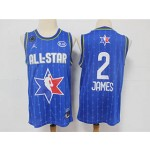 NBA 2020 All Star Game James #2 blue Jersey