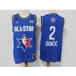 NBA 2020 All Star Game Doncic #2 blue Jersey
