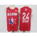 NBA 2020 All Star Game Bryant #24 red Jersey