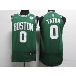 Celtics #0 Jayson Tatum Green Nike Youth Authentic Jersey