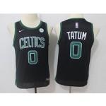 Celtics #0 Jayson Tatum Black Youth Nike Swingman Jersey