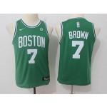 Celtics #7 Jaylen Brown Green Youth Nike Swingman Jersey