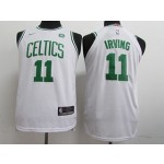 Celtics #11 Kyrie Irving White Nike Youth Swingman Jersey