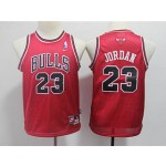 Bulls #23 Michael Jordan Red Youth Nike Mesh Throwback Jersey